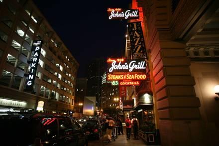 John's Grill Best Steakhouse;