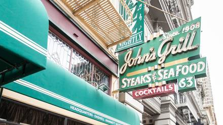 John's Grill Top 10 Steakhouse;