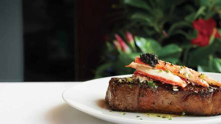 Fleming's Prime Steakhouse & Wine Bar USDA Prime Steaks;