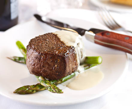 Fleming's Prime Steakhouse & Wine Bar USDA Best Steaks;