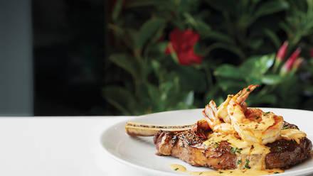 Fleming's Prime Steakhouse & Wine Bar USDA Prime Steaks;