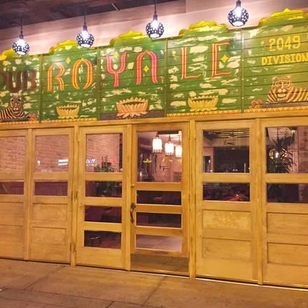 Pub Royale best chicago rooftop restaurants; Pub Royale