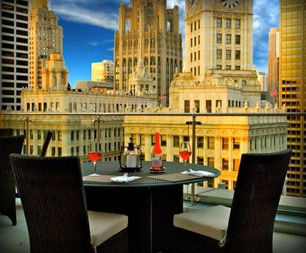 The Terrace at Trump best french bistro chicago;