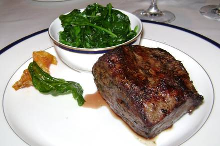Pacific Dining Car prime steakhouse