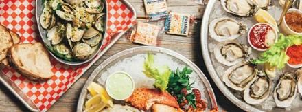 Oyster Bah best chicago rooftop restaurants;