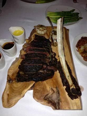 TS Steakhouse USDA Best Steaks;