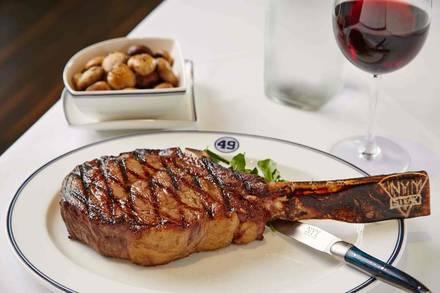 NYY Steak prime steakhouse