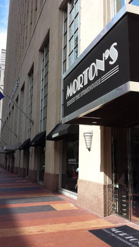 Morton S The Steakhouse Mckinney St Houston Restaurant On