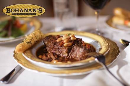 Bohanan's Prime Steaks and Seafood prime steakhouse;