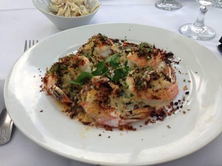 Eddie V's Prime Seafood USDA Prime Steaks;