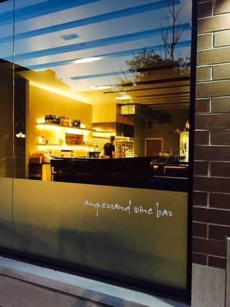 Ampersand Wine Bar best chicago rooftop restaurants;