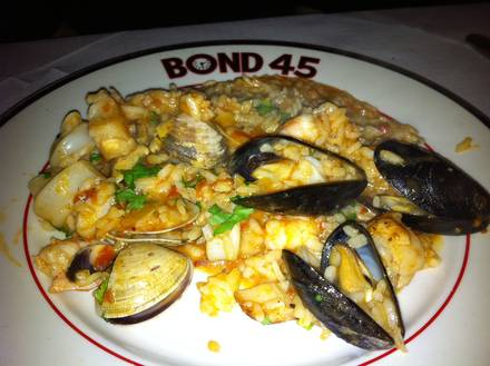 Bond 45 Best Steak Restaurant;