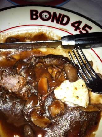 Bond 45 Top 10 Steakhouse;
