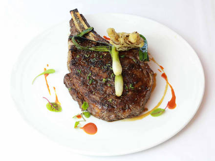 Bourbon Steak prime steakhouse;