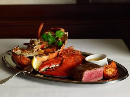 The Palm Restaurant USDA Best Steaks;