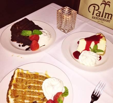 The Palm Restaurant Best Steak Houses;