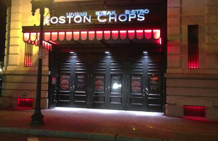 Boston Chops prime steakhouse;