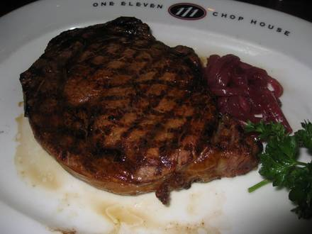 One Eleven Chop House USA's BEST STEAK RESTAURANTS 2020;