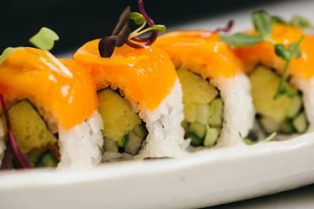 Naoki Sushi best chicago rooftop restaurants;