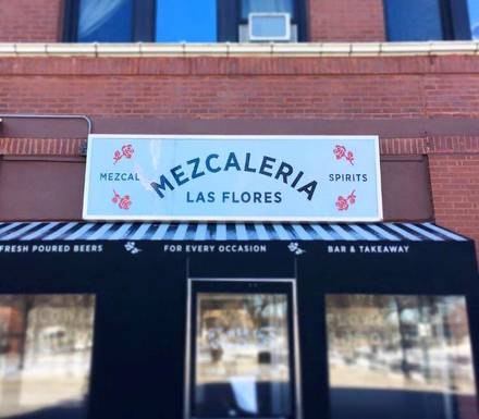 Mezcaleria Las Flores best french bistro chicago;