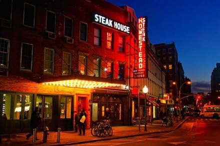 Old Homestead Steakhouse Best Steak Restaurant;