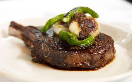 Jeff Ruby's Steakhouse USDA Best Steaks;