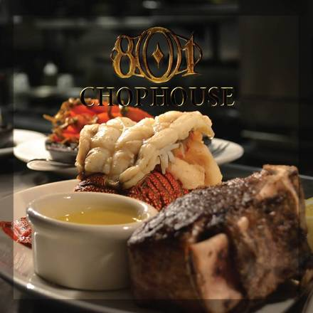 801 Chophouse Top 10 Steakhouse;