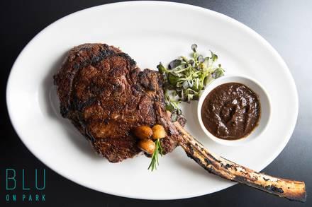 Blu on Park Restaurant Best Steakhouse;