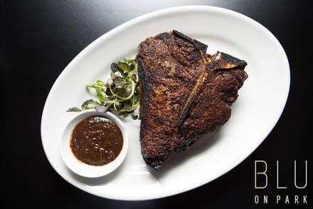 Blu on Park Restaurant prime steakhouse;