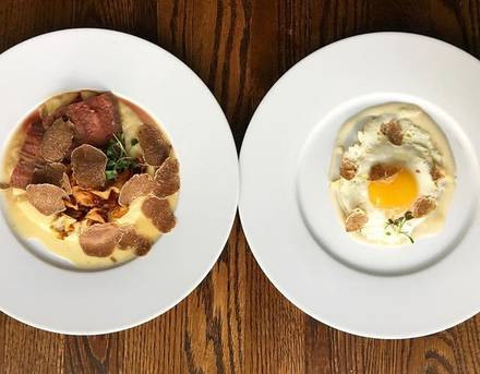 Osteria Langhe best comfort food chicago;