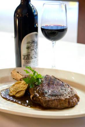 The Grillroom Chophouse & Winebar prime steakhouse;