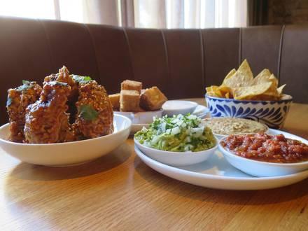 Dos Urban Cantina best german restaurants in chicago;