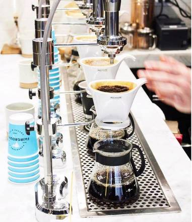 Fairgrounds Coffee and Tea Bar best italian restaurant in chicago;