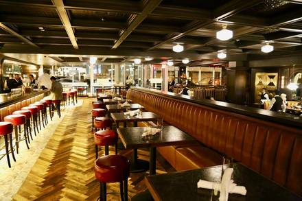 RARE Steak and Seafood prime steakhouse;