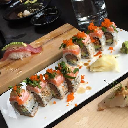Sushi Dokku best chicago rooftop restaurants;