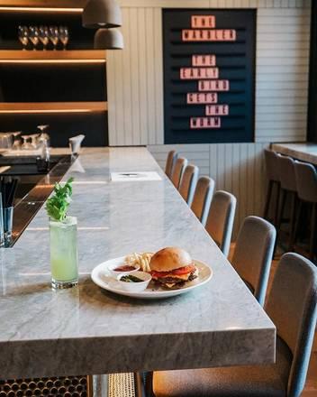 The Warbler best comfort food chicago;