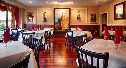 Demera Ethiopian Restaurant best greek in chicago;