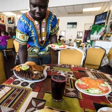 Yassa African Restaurant best greek in chicago;