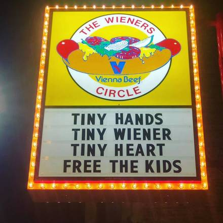 Wiener's Circle best german restaurants in chicago;
