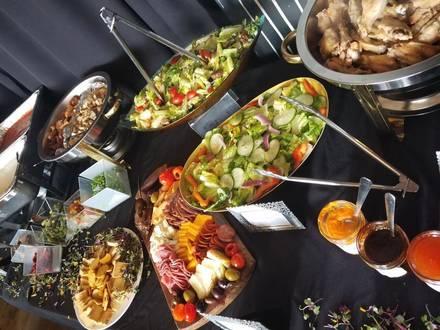 One Eleven Food Hall best chicago rooftop restaurants;