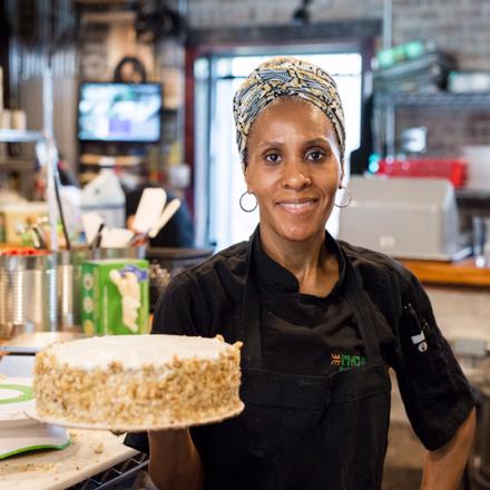 One Eleven Food Hall best greek in chicago;