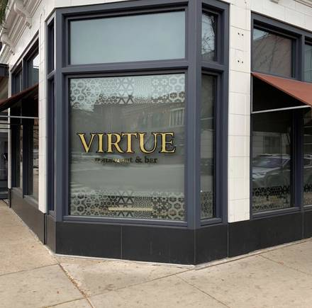 Virtue Restaurant & Bar best greek in chicago;