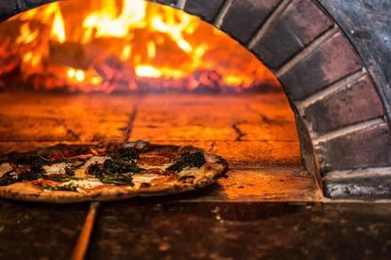 Coalfire Pizza best chicago rooftop restaurants;