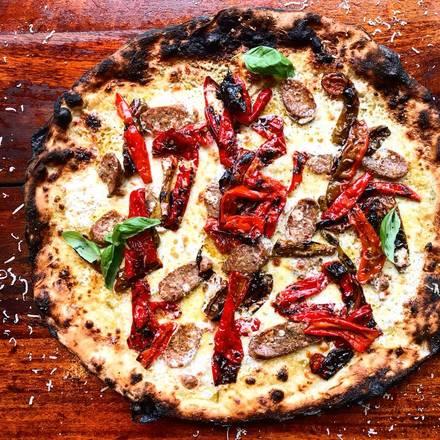 Coalfire Pizza best greek in chicago;