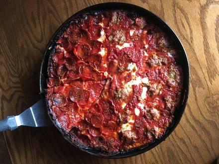 Pequod's Pizza (Chicago) best comfort food chicago;