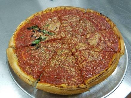 The Art of Pizza best comfort food chicago;
