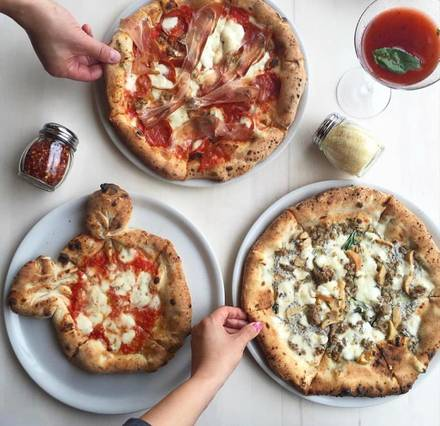 Forno Rosso Pizzeria Napoletana best greek in chicago;