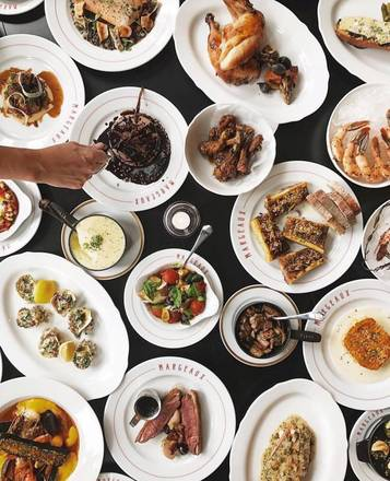 Margeaux Brasserie best italian restaurant in chicago;