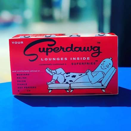 Superdawg Drive-In best greek in chicago;