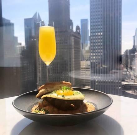 Travelle best chicago rooftop restaurants;